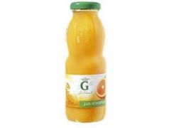 Jus de fruits orange