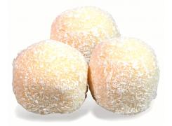 D4 perles de coco  ( 3 pièces)