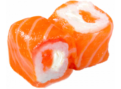 Roll cheese saumon