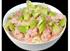 Salade thon cuit mayo avocat